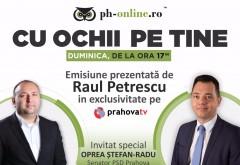 """Senatorul PSD Stefan Radu Oprea, invitat in emisiunea """"Cu ochii pe tine"""", duminica, la Prahova TV"""