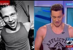 """Mircea Badea, în maiou la emisiune: """"Dacă am maiou, semăn cu Brad Pitt"""". Ce spune despre Klaus Iohannis"""