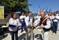 Bogdan Toader, mesaj emotionant la Cerasu, cu prilejul pomenirii eroilor de la Tabla Butii