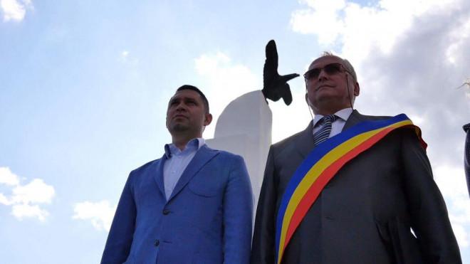Presedintele CJ Prahova, Bogdan Toader, prezent la comemorarea lui Aurel Vlaicu, la Banesti