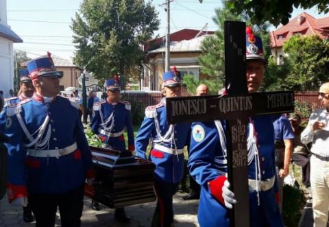 Inmormantare Mircea Ionescu Quintus