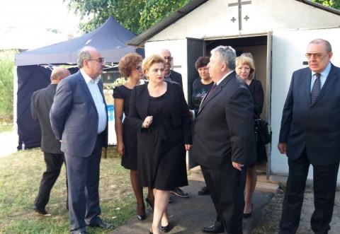 Cine sunt politicienii care au venit la inmormantarea lui Mircea Ionescu Quintus