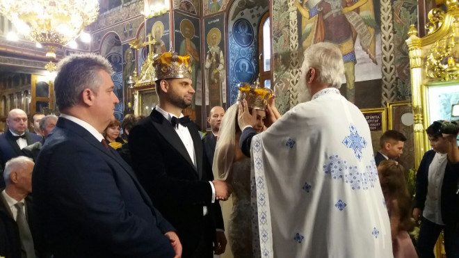 S-a casatorit primarul Adrian Dobre. Cum a aratat MIREASA