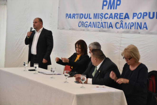 Adrian Piţigoi a fost reales preşedinte al PMP Câmpina