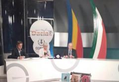Mircea Cosma, invitat special la o televiziune din Italia