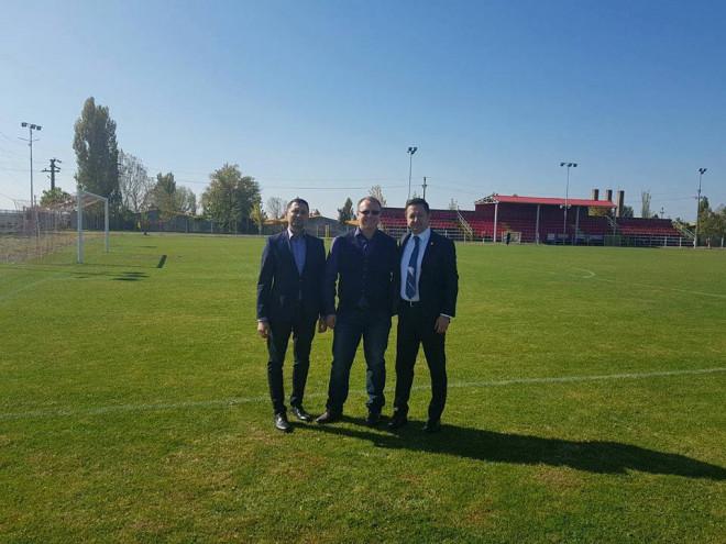 Primarul din Blejoi, felicitat de ministrul Marius Dunca