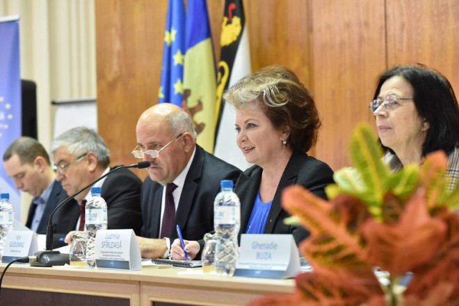 "Ludmila Sfirloaga a participat la ""Euroregiunea Siret-Prut-Nistru"", in Republica Moldova"