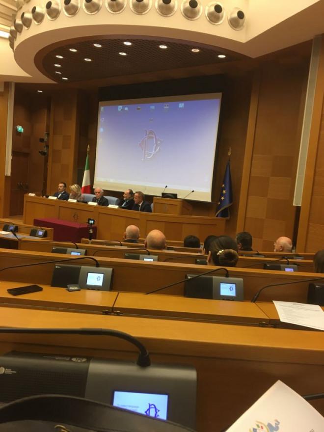 Mircea Cosma, prezent la Palatul Parlamentului din Roma, la discutii privind cooperarea economica a Romaniei cu Italia