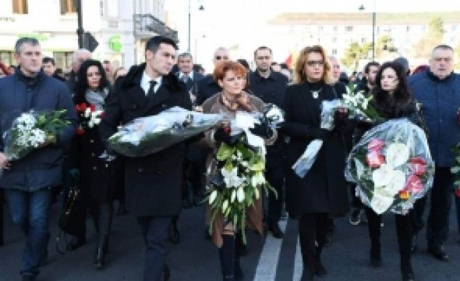 Miting URIAȘ al PSD în memoria Regelui Mihai. Olguța Vasilescu, prezentă la eveniment