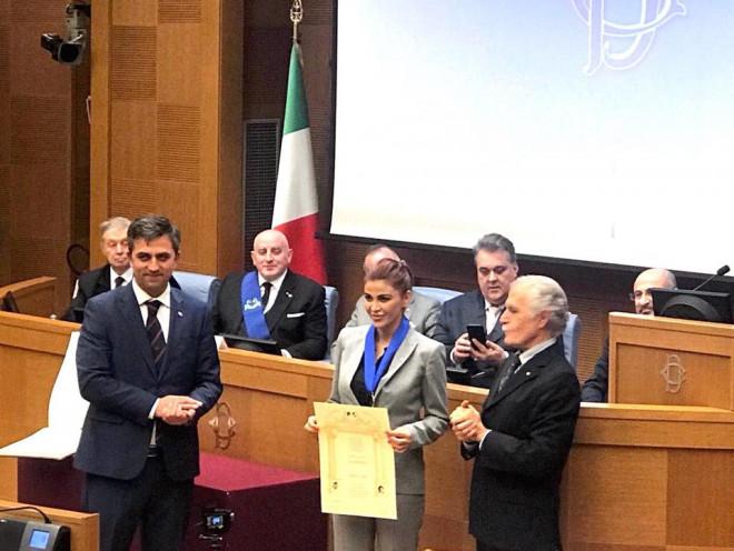 Andreea Cosma a devenit membru al Academiei Europene de la Roma