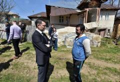 Seful CJ Prahova a vizitat familiile afectate de alunecarile de teren. Ce spun Bogdan Toader despre noile locuinte oferite de Guvern
