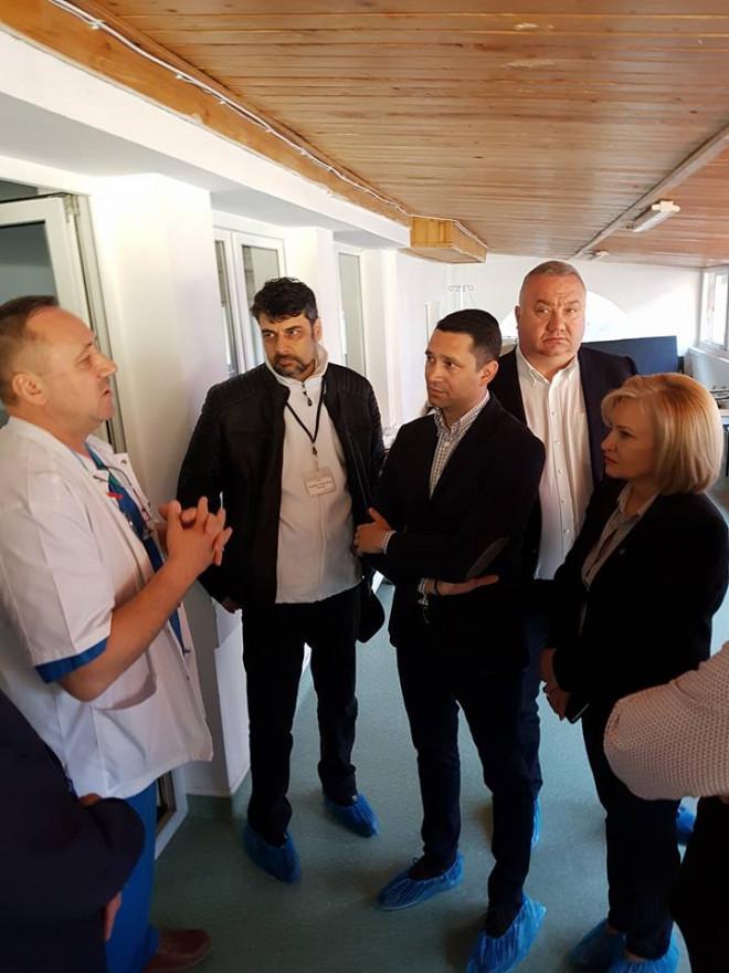 Fapte, nu vrobe! PSD Prahova a donat paturi, saltele si scaune cu rotile Spitalului de Ortopedie şi Traumatologie Azuga