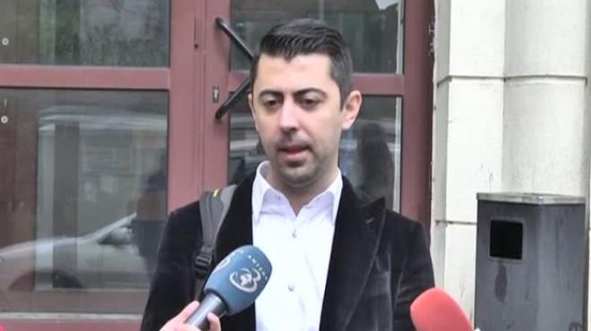 Vlad Cosma a dus un ghiozdan de probe la Parchetul General