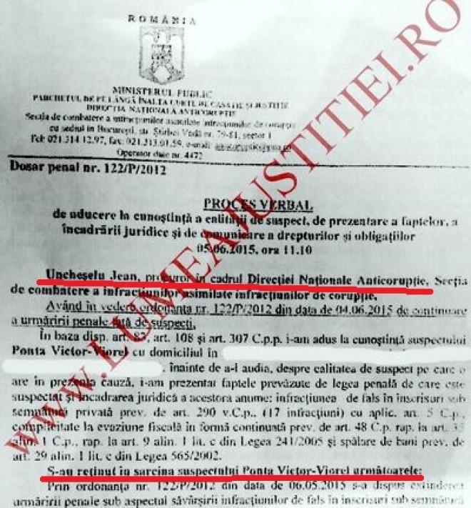 Slugile DNA vor plati cu varf si indesat! Victor Ponta il da in judecata pe procurorul DNA care i-a fabricat in 2015, fara probe, dosarul penal