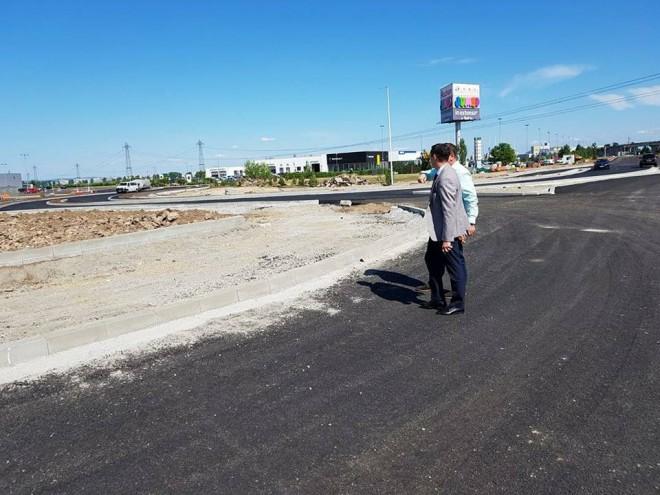 Fapte, nu vorbe! Consiliul Judetean a finalizat un proiect important: Un nou drum de acces către Centura de Vest a Ploieștiului