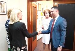 CJ Prahova, gazda unei intalniri pe teme de educatie, la care a fost prezent si ambasadorul Finlandei în România, Päivi Pohjanheimo