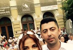 """Vlad și Andreea Cosma, la mitingul PSD: """"Am venit să protestăm împotriva abuzurilor. Reprezentăm Prahova, județul unde s-au făcut cele mai multe abuzuri"""""""