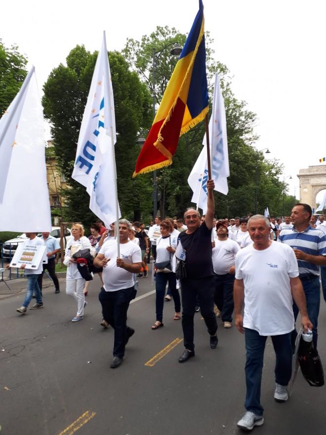 ALDE Prahova a sustinut mitingul cu peste 2.000 de oameni