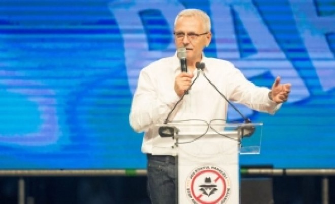 Liviu Dragnea anunţă încă un protest PSD: 'Următorul miting va fi un miting uriaş, într-o altă locaţie'