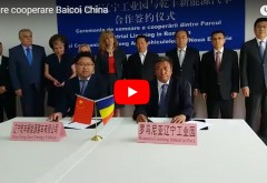 Video INTERZIS propagandistilor #REZIST! Prahova a semnat contractul cu firma chineza care va investi 50 milioane de euro intr-o fabrica de masini