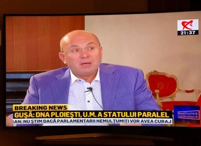 Gusa: DNA Ploiesti este UM a Statului Paralel