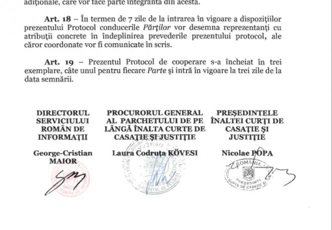 BOMBA! Nicolae Popa (ICCJ), dupa ce semnatura sa a aparut pe protocolul cu SRI: Eu nu puteam semna protocolul cu SRI, eram plecat