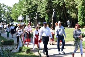 Codrin Stefanescu, alaturi de politicienii prahoveni, la comemorarea lui C. Stere