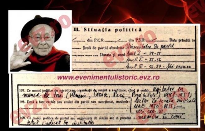 Document. MIHAI ȘORA a fost AGITATOR CU MUNCA LA ȚARĂ în perioada 1948-1951