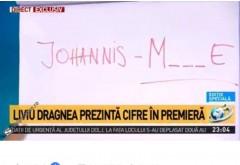 Liviu Dragnea a făcut spectacol la Antena 3: Mesaj pentru Klaus Iohannis: JOHANNIS M_ _ _ E - FOTO