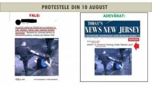 Ministerul de Interne, prezentare amplă a manipulărilor apărute în spaţiul public după protestul din 10 august