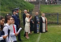 Deputatul Rodica Paraschiv, la deschiderea anului scolar in comuna Alunis