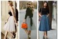 Cum porți fusta midi: Sfaturi de styling în funcție de siluetă