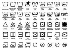 Foarte tare! Uite ce reprezinta etichetele de pe haine si cum poti invata sa le speli eficient!
