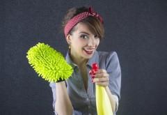 Trucuri de curatenie ca la carte. Este simplu sa faci curat in toata casa!
