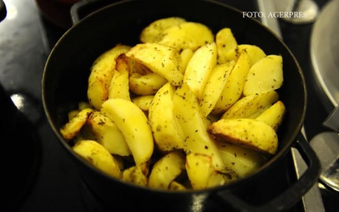 Cartofii prajiti la temperaturi inalte pot creste riscul de cancer. Ce au descoperit medicii