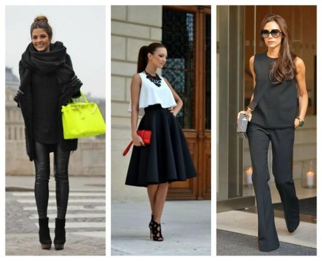 Cum să porţi negru în ţinute stylish