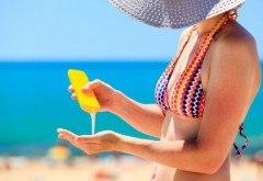 Studiu: nu soarele cauzează cancer, ci loţiunile de plajă  Citeste mai mult: adev.ro/palhiz