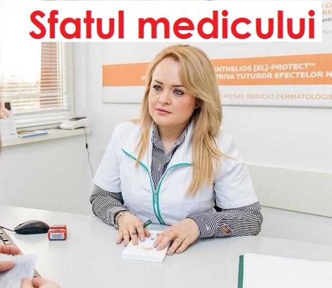 """Dr. Ana Fâcã (dermatolog) raspunde intrebarilor cititorilor: """"Ma mananca pielea capului si imi cade parul. Sa fie psoriazis?"""""""