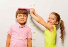 Graficul greutatii si inaltimii copiilor 0-8 ani