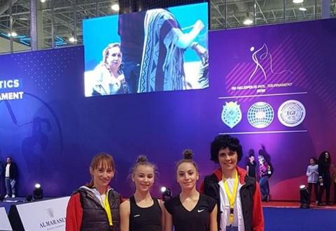 Gimnastele CSM-ului printre cele mai bune