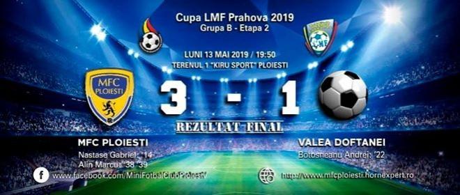 MFC Ploiesti este prima semifinalistă a Cupei LMF Prahova!