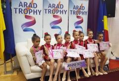 Zeci de medalii pentru gimnastele CSM-ului