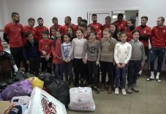 Copii din Urlați în vizită la liderul campionatului!