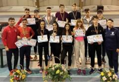 Medalii de iarnă cucerite de atleții școlari
