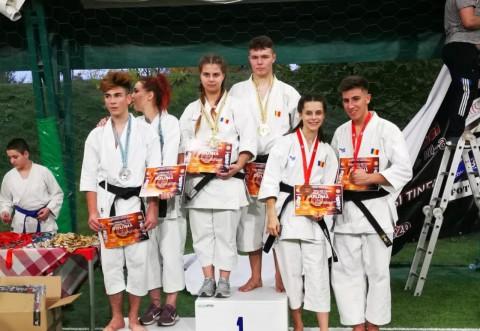 Evoluții demne de podium pentru karatiștii și judokanii CSM-ului