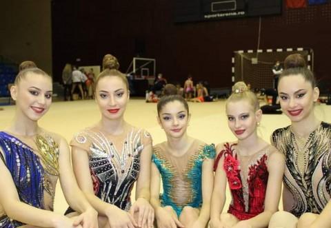 Gimnastele CSM-ului au onorat statutul de gazdă