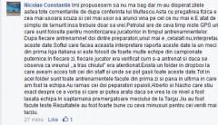 Nae Constantin îl desfiinţează pe Mulţescu!