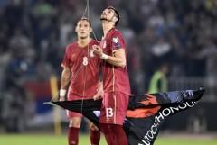 Meciul Serbia - Albania a fost întrerupt definitiv din cauza incidentelor