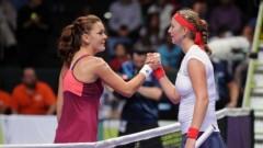 Radwanska a învins-o pe Kvitova la Turneul Campioanelor