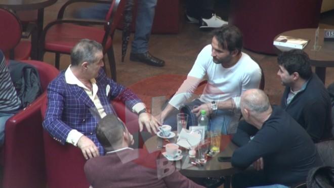 Gigi Becali, la masă cu Teixeira!